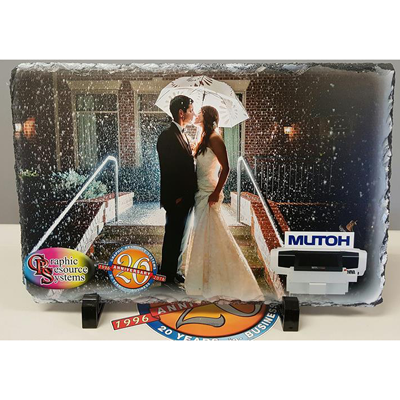 "GRS 7.75x11.75"" Photo Slate Sublimation"