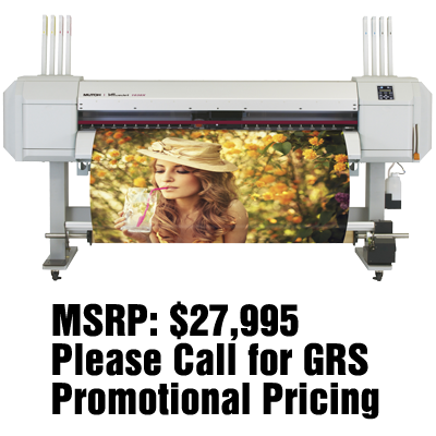"Mutoh ValueJet 1638X 64"" Dual Head"