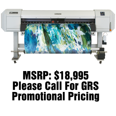"Mutoh ValueJet 1624W 64"" Dye Sub Printer"