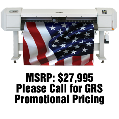"Mutoh ValueJet 1638W 64"" Dye Sub Printer"