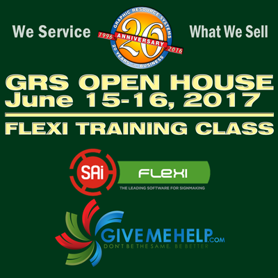 Flexisign Training Class Both Days